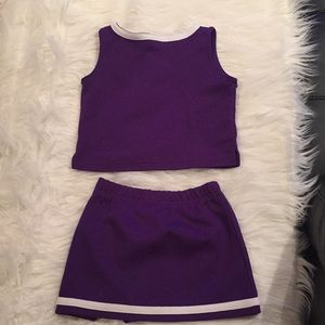 77fc00c04 NFL Matching Sets - Minnesota Vikings Toddler Cheerleaders Outfit 💜💛